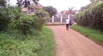 Plots for sale in Munyonyo at shs 160,000,000