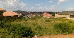 Plots for sale in Nansana Kabulenga at shs 50,000,000