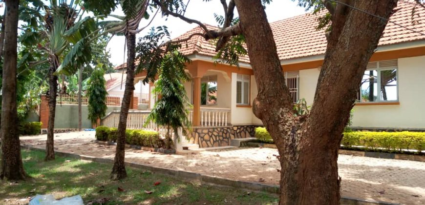 House for sale in Lweza at shs 300,000 US dollars