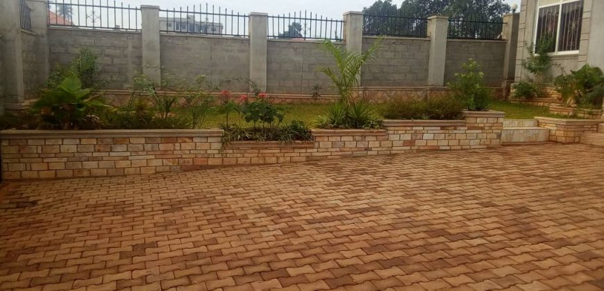 House for sale in Gayaza Nakwero Canaan estate at shs 180,000,000