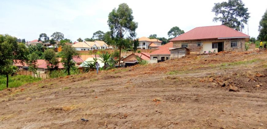 Plots for sale in Seeta town at shs 43,000,000