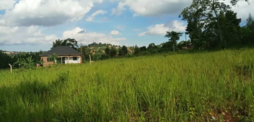 Plots for sale in Wakiso at shs 85,000,000