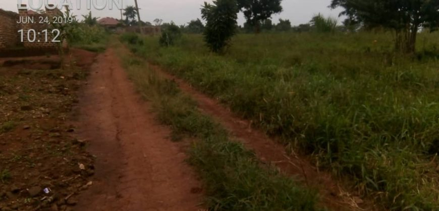 Plots for sale in Buziga at shs 70,000,000