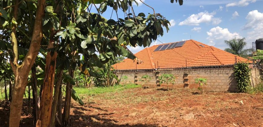 Plots for sale in Nakwero Canaan estate at shs 37,000,000