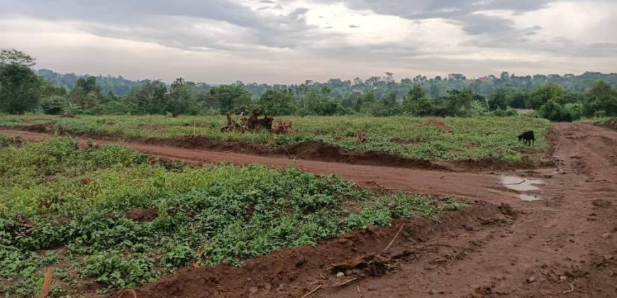 Plots for sale in Kyetume at shs 7,500,000