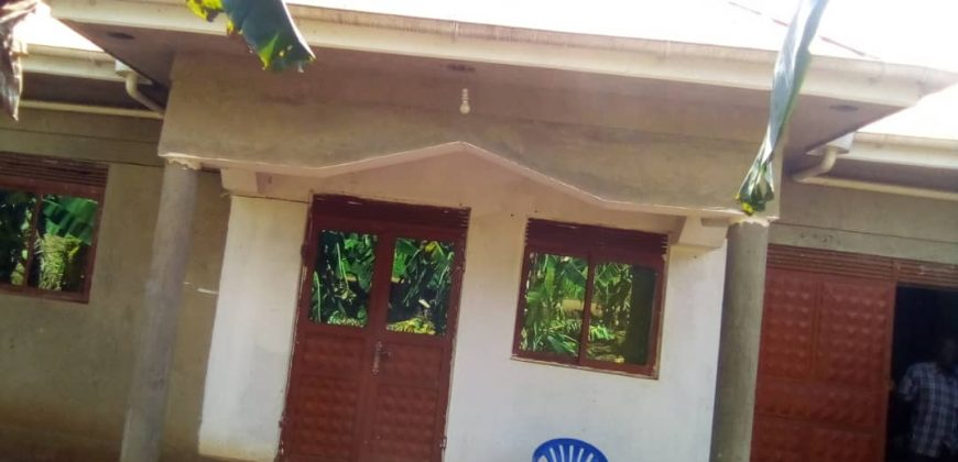 House for sale in Mukono at shs 130,000,000