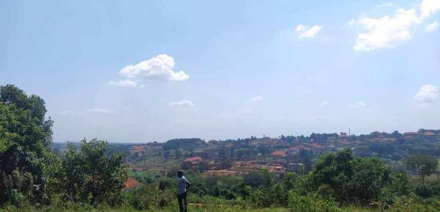 Plots for sale on Buwate hill at shs 220,000,000