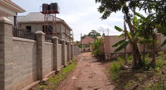 Plots for sale in Kira Mamerito road at shs 80,000,000