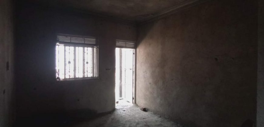 A shell house for sale in Namugongo at shs shs 180,000,000
