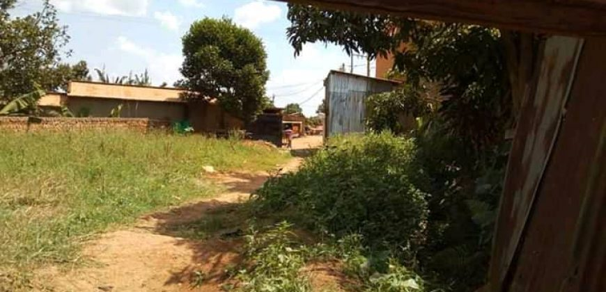 Rental units and a Plot for sale in Seeta at shs 170,000,000